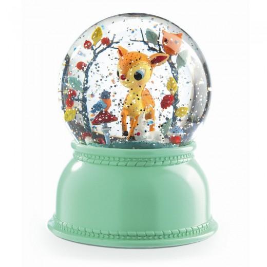 DJECO Bambi snekugle med lys-31