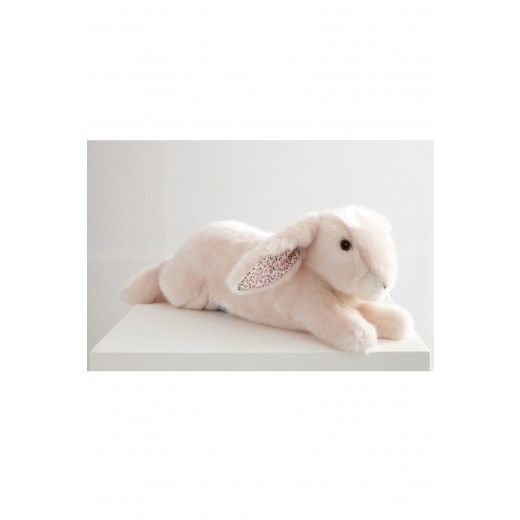 Pamplemousse PELUCHES MARTIN LE LAPIN rose 35 cm-33