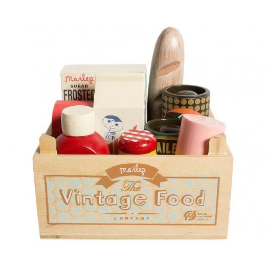 maileg Vintage Food kolonial kasse-32