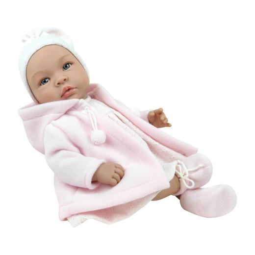 Asi dukke Leonora rosa duffel coat 46 cm-33