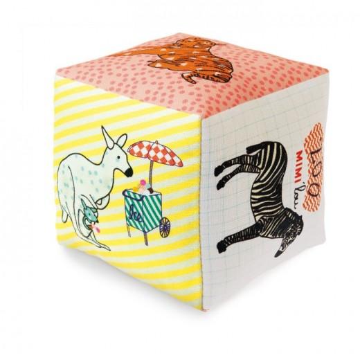 MIMI´lou Cube Tissu ZOO-31