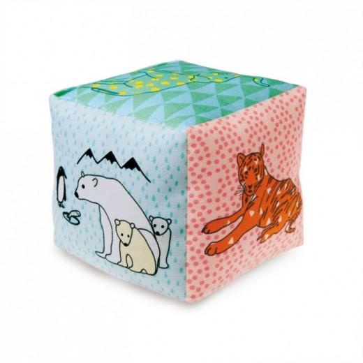 MIMI´lou Cube Tissu ZOO-01