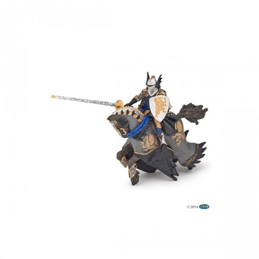 papo figur Dragon Black Prince and Horse-36