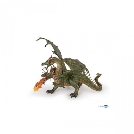 papo figur Two Headed Dragon-36