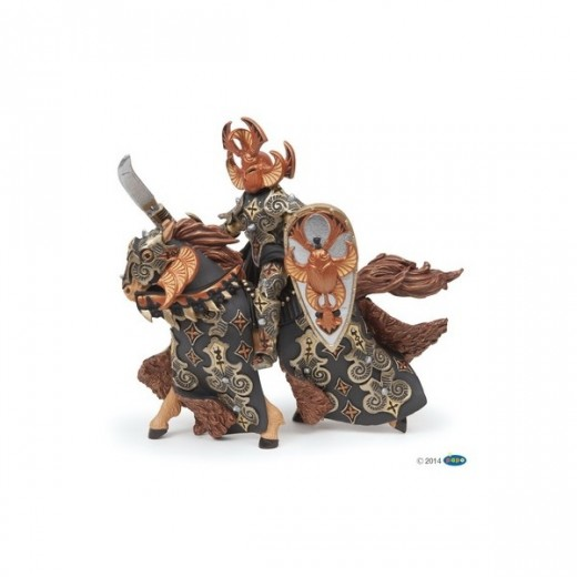papo figur Dark Beetle Warrior and Horse-37