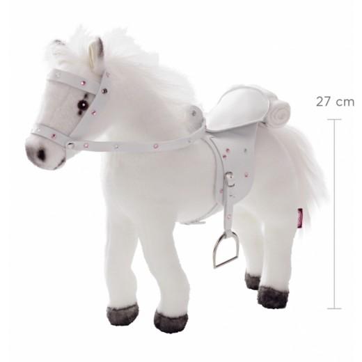 Götz Hest m/lyd, sadel og hovedtøj 27 cm-31