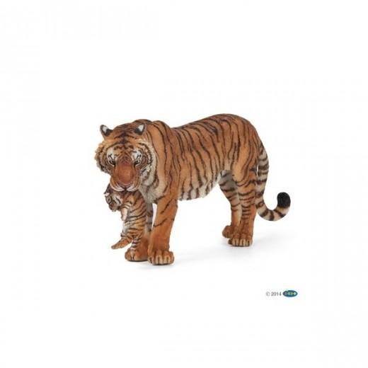 papo figur Tiger med unge-311