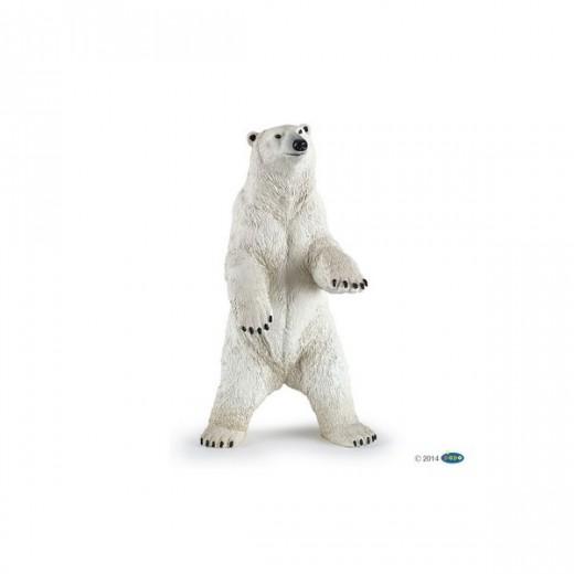 papo figur Isbjørn stående-319