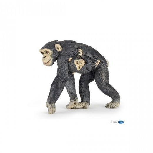 papo figur Chimpanse med unge-321