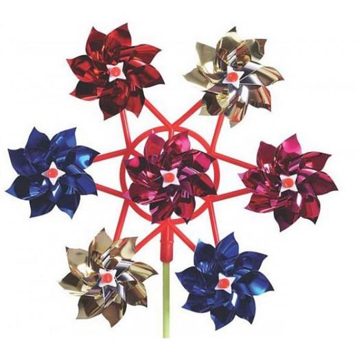 imagetoys Vindmølle med blomster-31