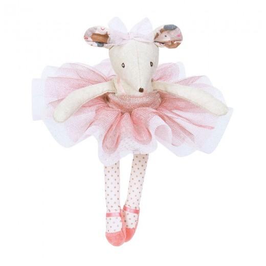 Moulin Roty Ballerina mus i kuffert-03