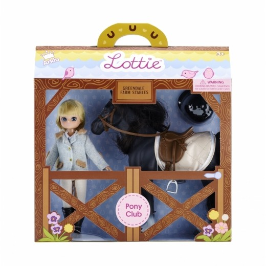 Lottie Pony Club med rytter-07