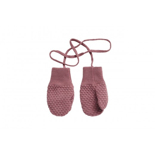 mp Baby Mittens rose grey-31