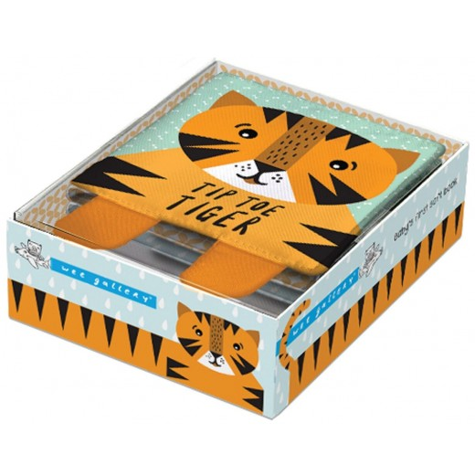 wee gallery Soft Book Tip Toe Tiger-32
