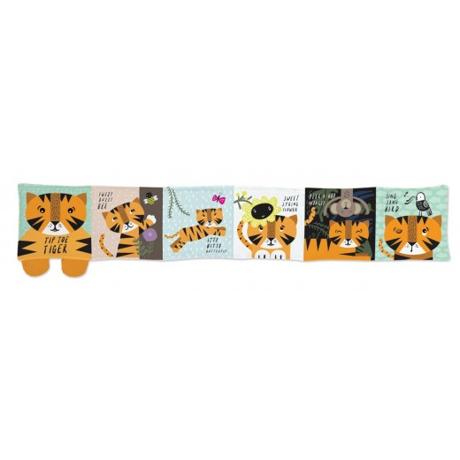 wee gallery Soft Book Tip Toe Tiger-02