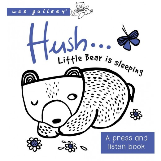 wee gallery Sound Book Hush ! Little Bear-31