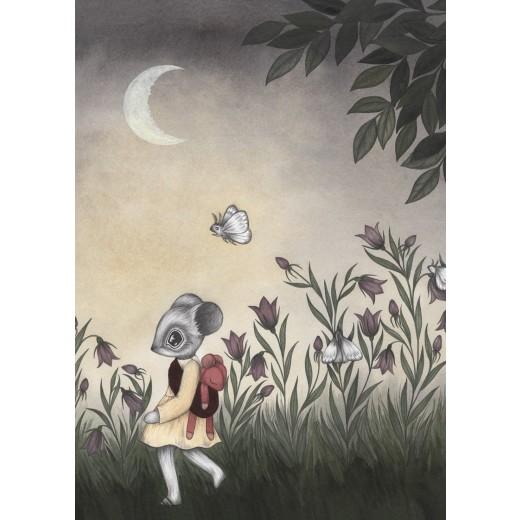 Kajsa Wallin Print Wild Child A4-05