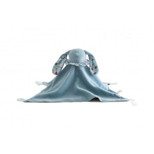 Pamplemousse PELUCHES Doudou Lapin BIO bleu-31