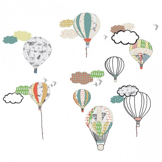"MIMI´lou ""hot air balloons"" sticker-31"