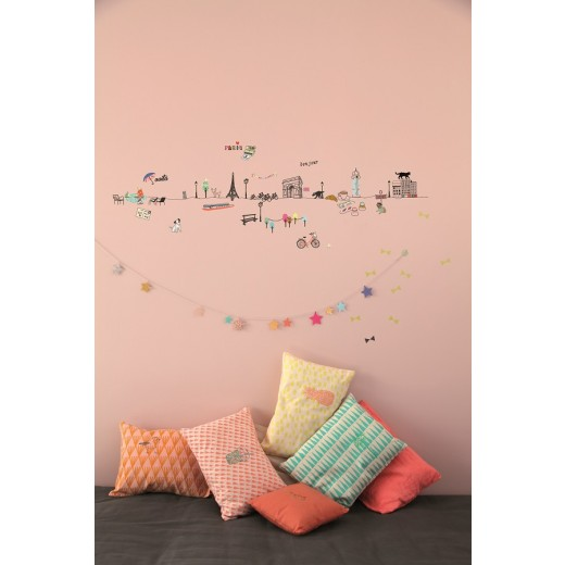 "MIMI´lou Wallborder ""Paris"" wallsticker-31"