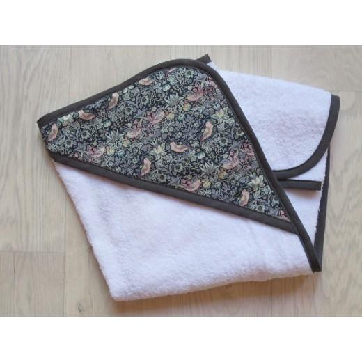 astas Håndklæde med hætte frotté/liberty stof-31