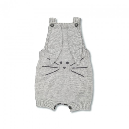 Shirley Bredal Bunny suit light melange grey-32