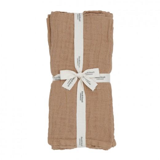 Bonét et Bonét Muslin Cloths caramel 4 pack-35