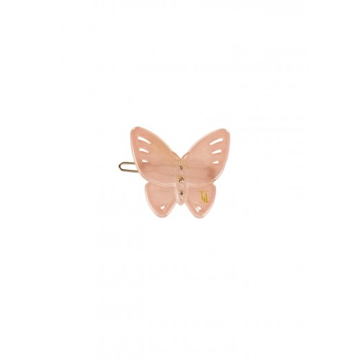 Bon Dep Hårspænde Butterfly clip Swarovski dush pink-32