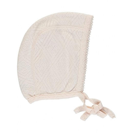 Bebe Organic Bonnet Heart rose-37