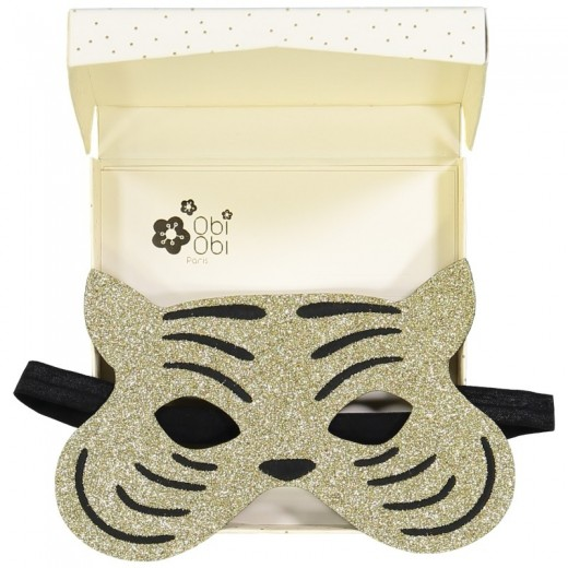Obi Obi Maske tiger guld-32