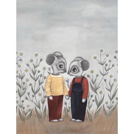 Kajsa Wallin Print Kindred 30x40 cm-07