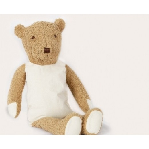 MinMin Copenhagen Teddy Bear brown wellness toy-01