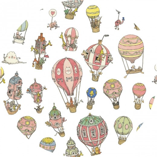 ATELIER CHOUX Carré HOT AIR BALLOONS-04