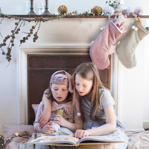 FABELAB Dreamy Christmas Stocking light grey-02