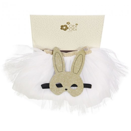 Obi Obi TUTU with mask box hvid-31