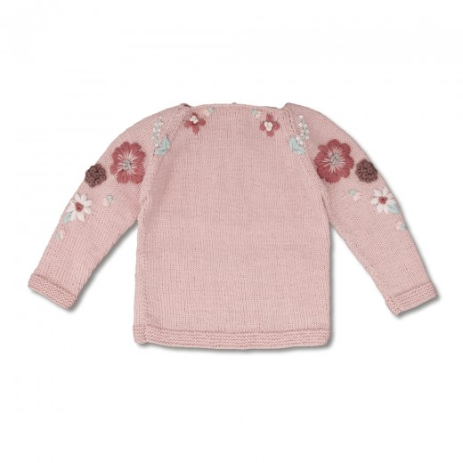 Shirley Bredal Sweater Flora dusty pink-32