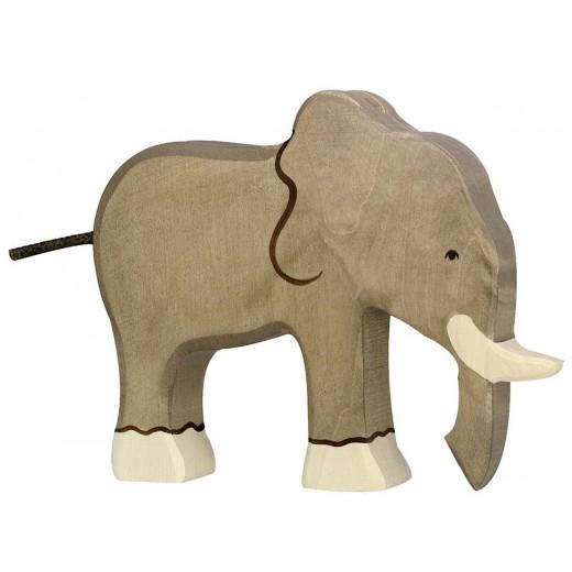 Holztiger Elefant-31