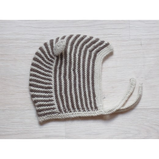 esencia Hat Mucca striped ivory/cocoa-31