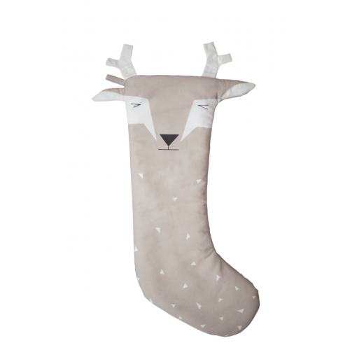 FABELAB Christmas Stocking Deer beige-32