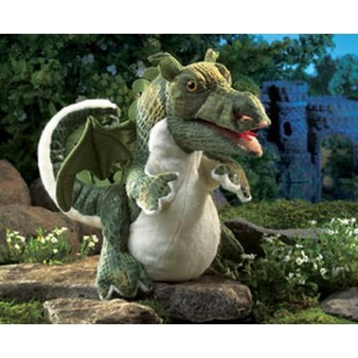 Folkmanis Dragon Baby hånddukke-31
