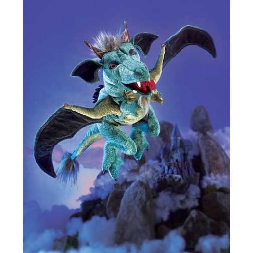 Folkmanis hånddukke Dragon Sky-31