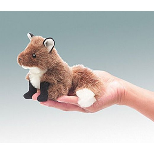 Folkmanis FIngerdukke Mini Fox-31