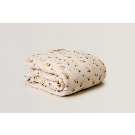 garbo and friends quilt Mimosa Muslin-35