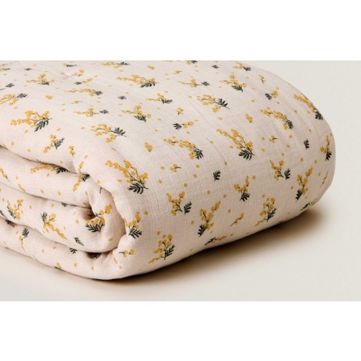 garbo and friends quilt Mimosa Muslin-05