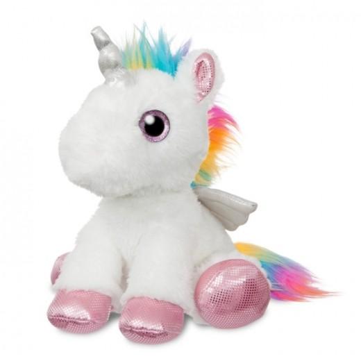 GA TOYS Unicorn hvid/multifarvet 30 cm-32