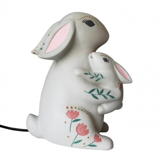 Disaster Designs Lampe Mother and Baby Rabbit-09
