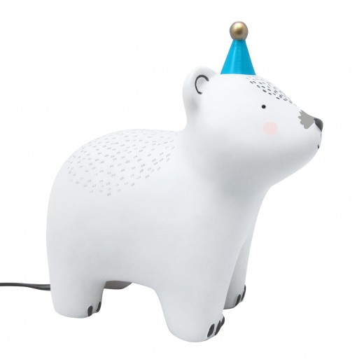 Disaster Designs Lampe Teddy with Hat-01