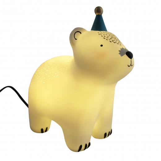 Disaster Designs Lampe Teddy with Hat-31