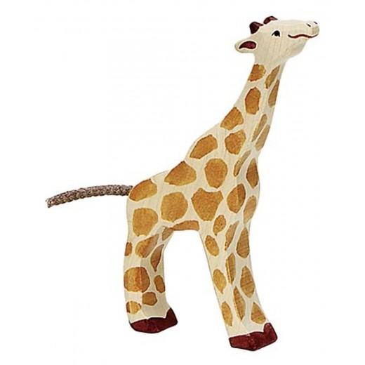 Holztiger Giraf unge-31
