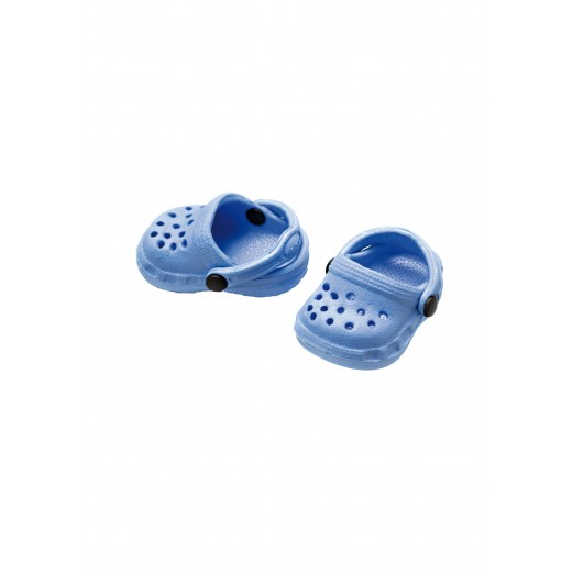 Heless Dukkesko Crocs blå 28-33 cm-38